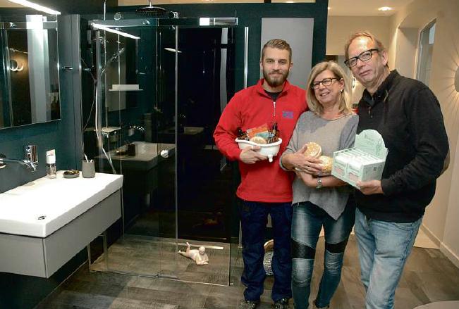 Die Firma Scheel präsentiert Bäder zum Wohlfühlen und Bad-Accessoires
