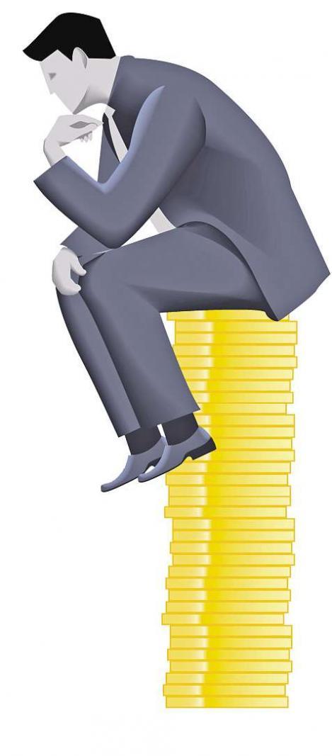 Das Gehalt spielt bei der Berufswahl eine große Rolle iStock