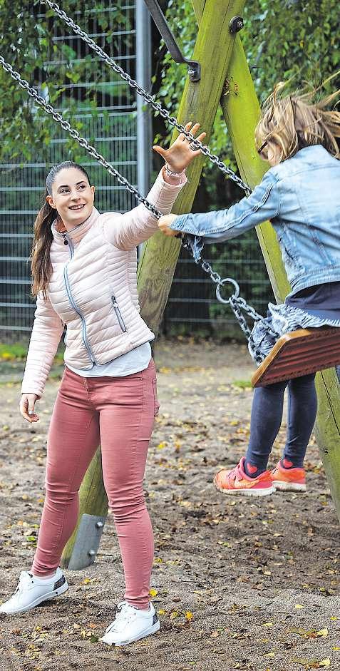 Tamara Hecker (21) wusste schon früh, dass sie gern mit Kindern arbeiten möchte Heiner Köpcke